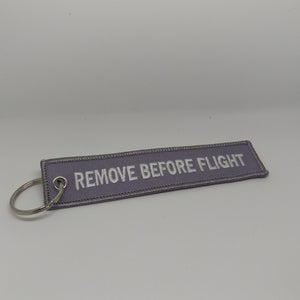 Image of Gray - Remove Before Flight Tag
