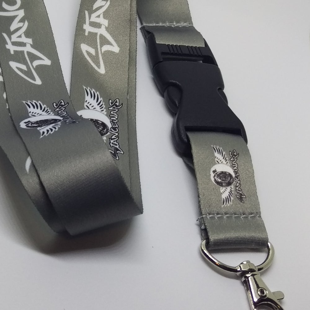 Image of Gray - StanceWars Logo Lanyards