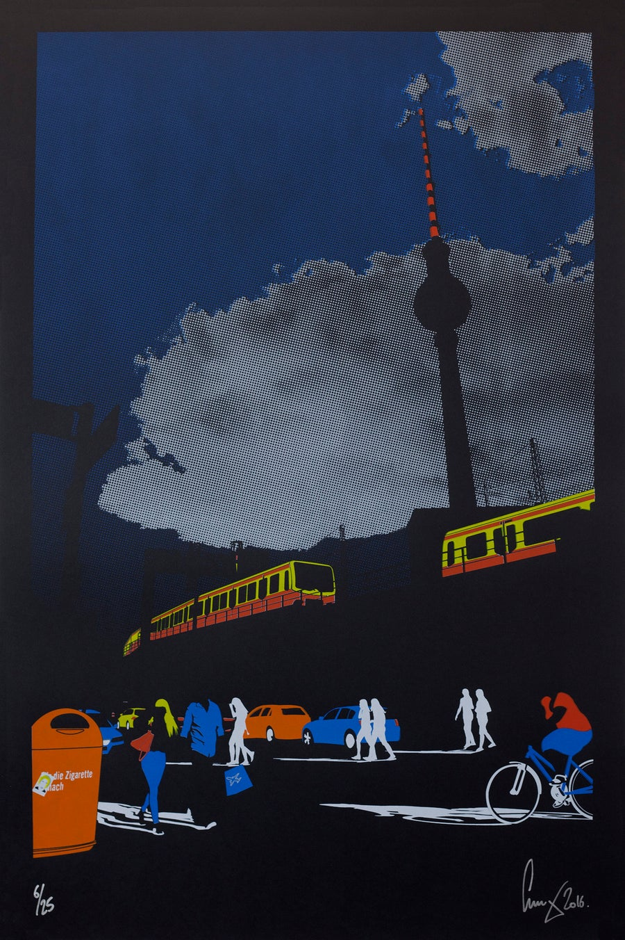 Image of A1 Berlin silhouettes