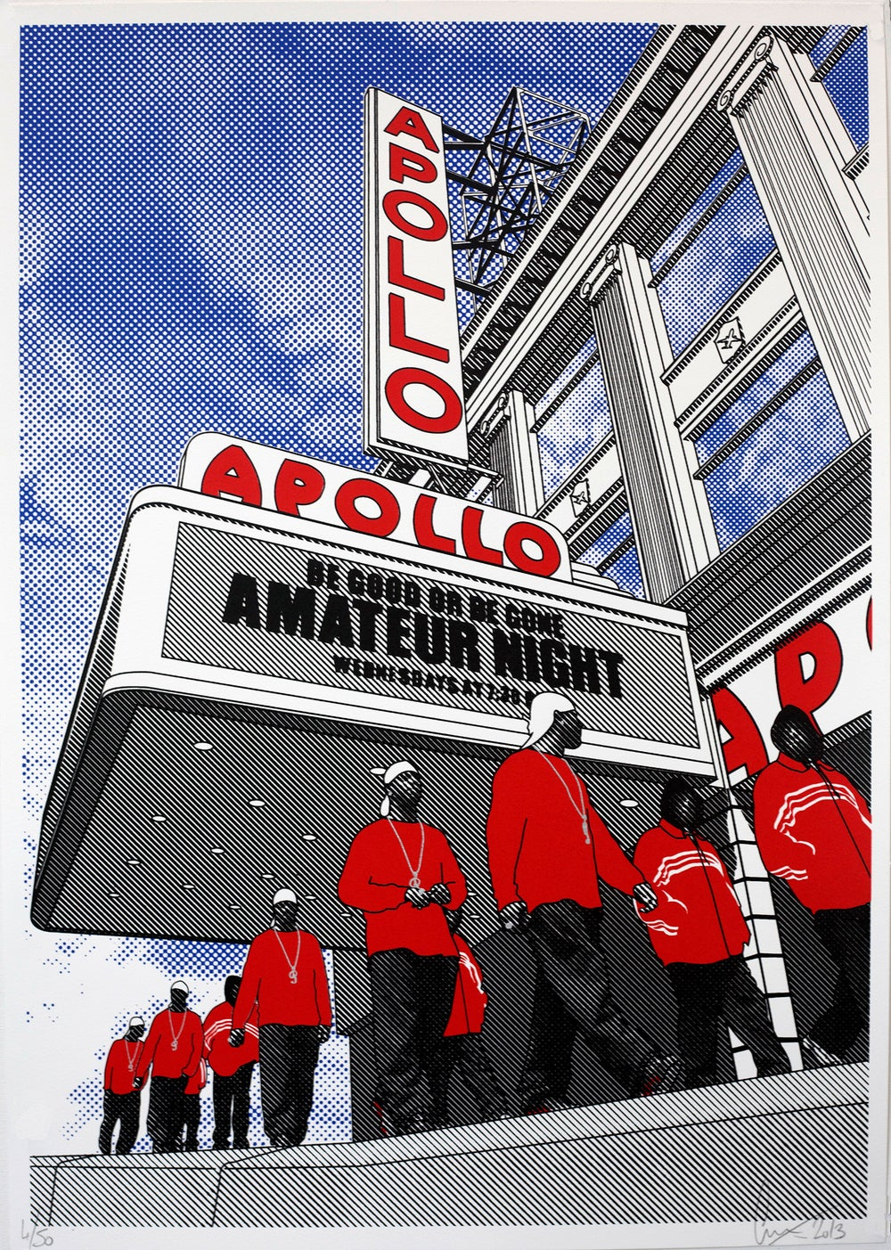 Image of Apollo screen print