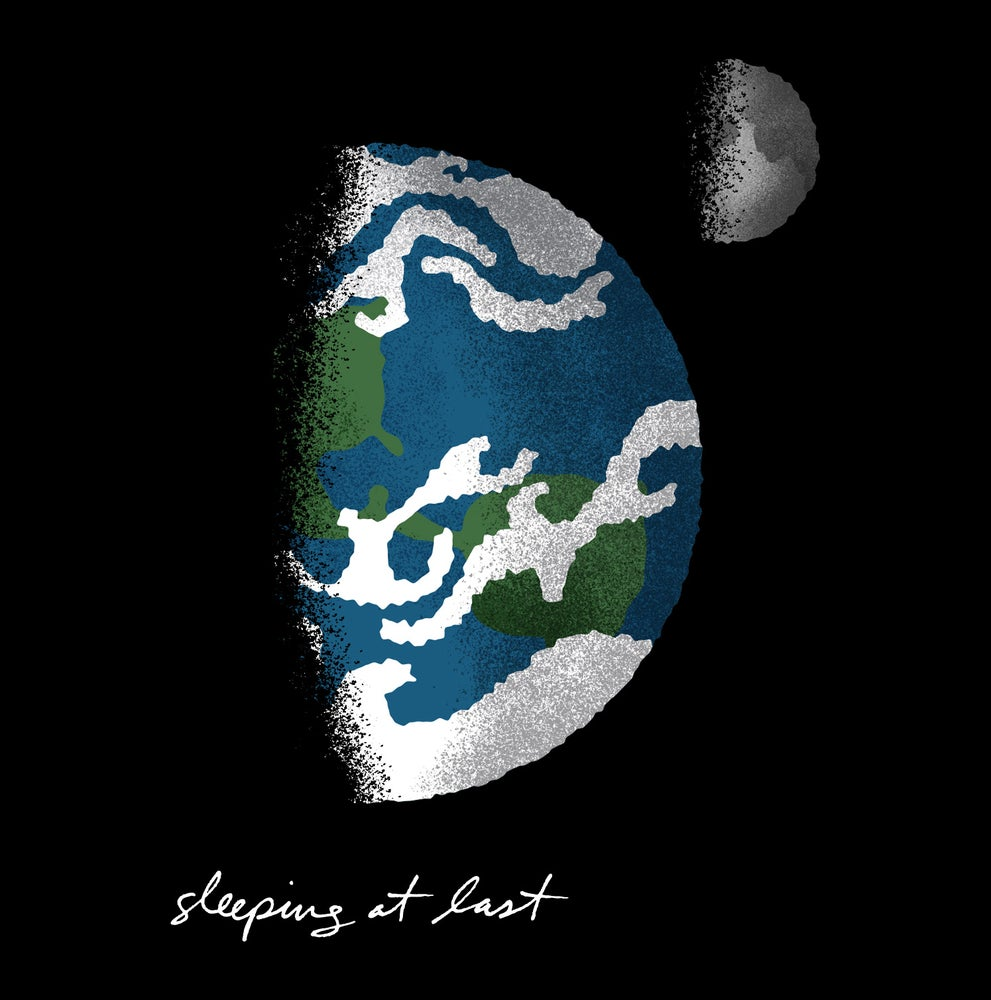 Image of Earth and Moon Shirt