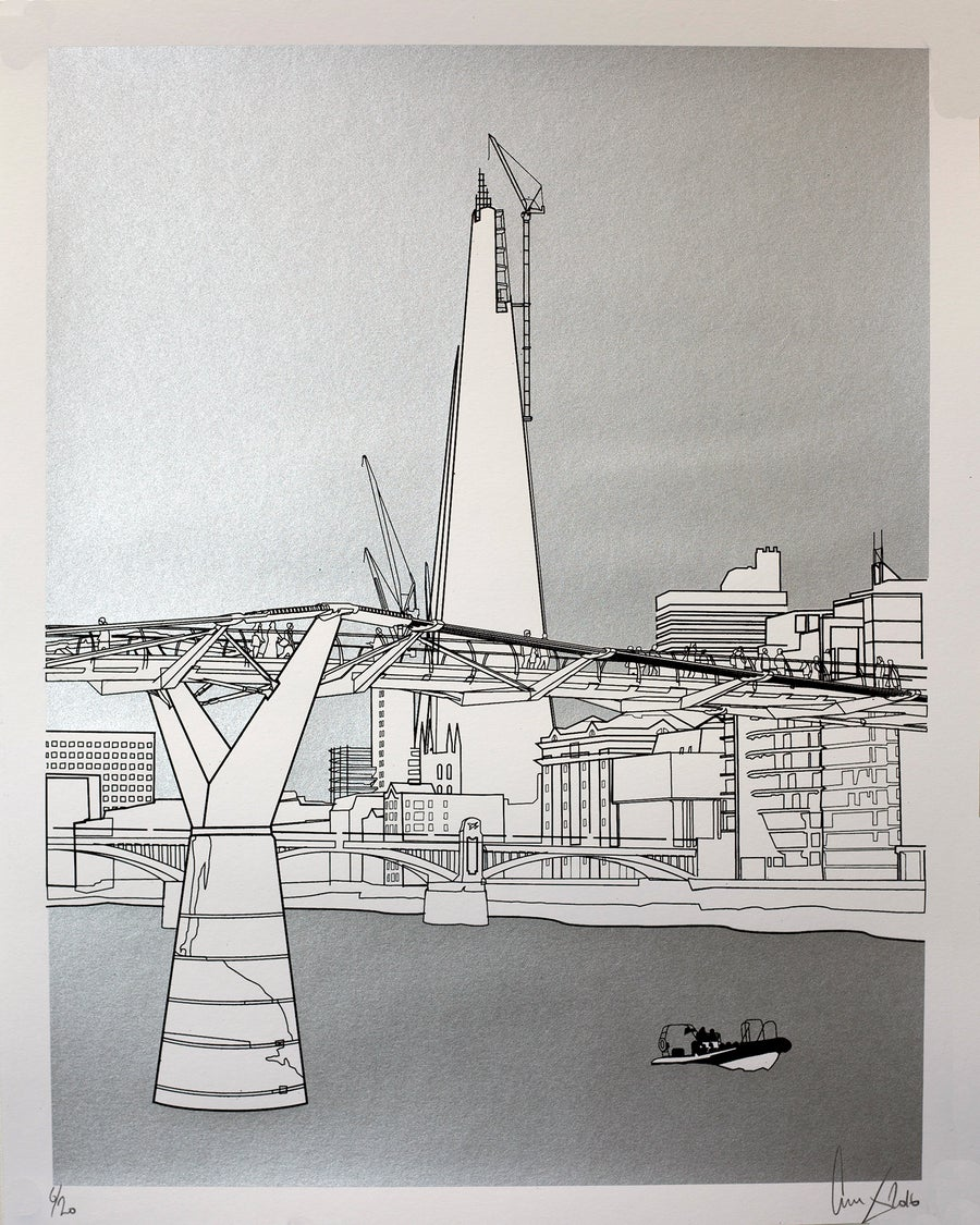Image of The Shard silver