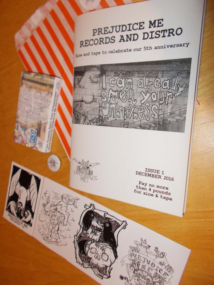 Image of 'I Can Already Smell Your Unhappyness' 5 Year Anniversary Compilation Tape And Zine
