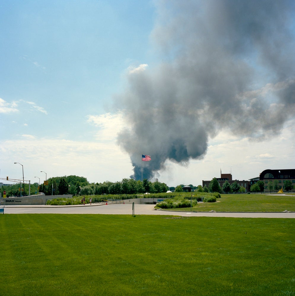 Image of America on Fire