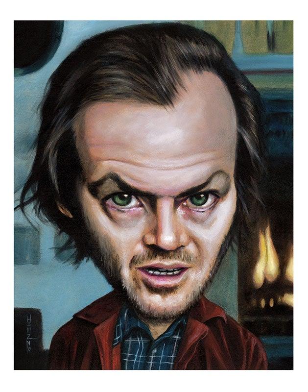 """Image of """"Jack Shining"""""""