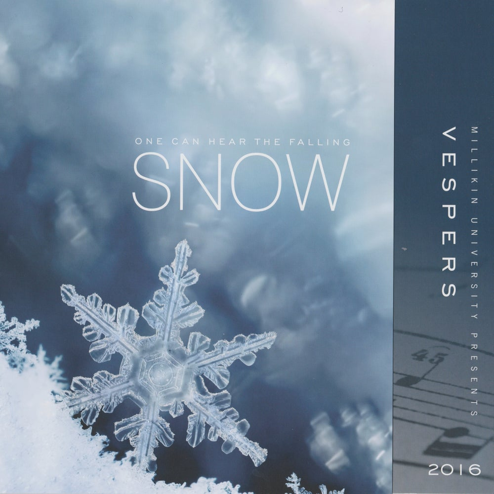 Image of Vespers 2016- One Can Hear the Falling Snow