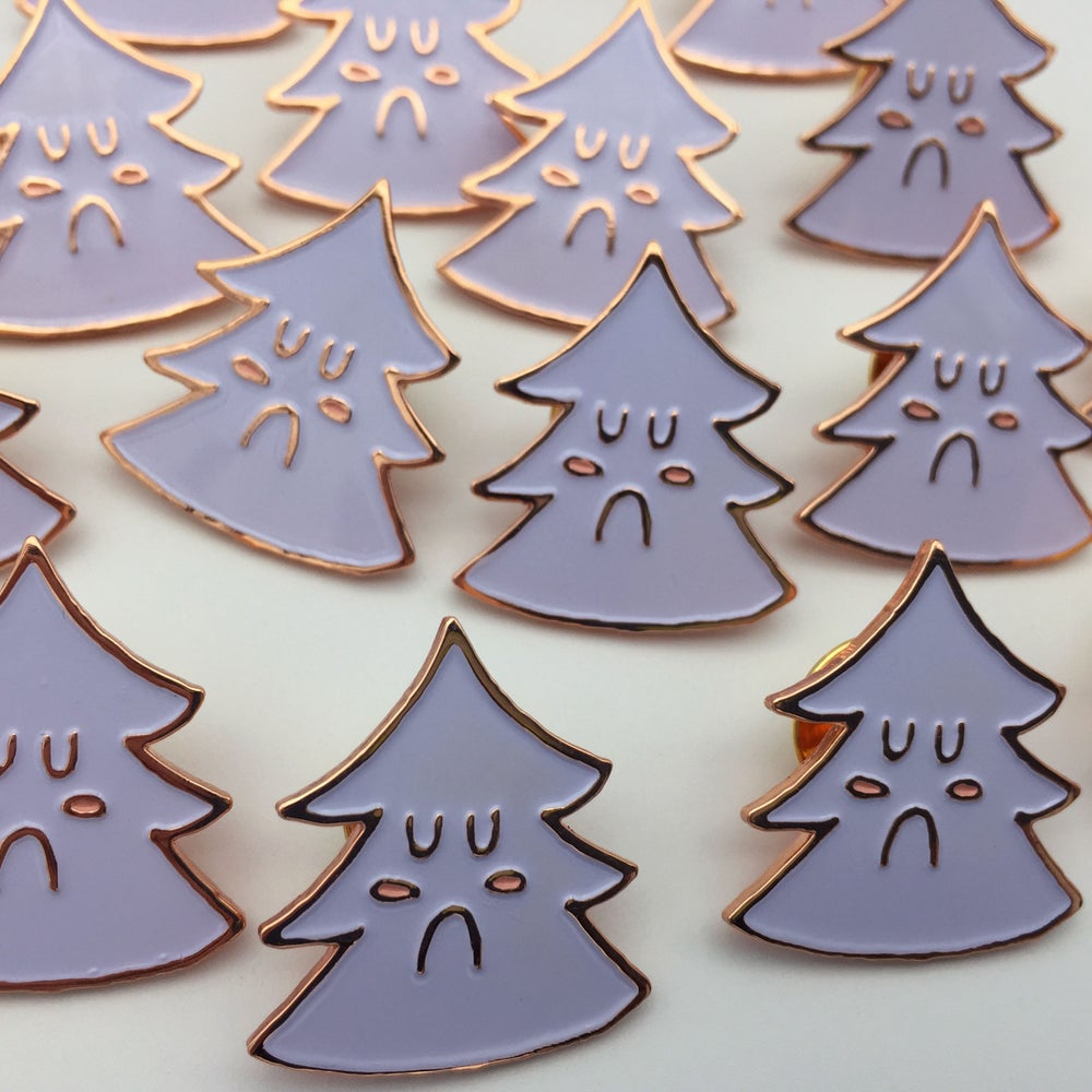 Image of Sad Little Tree Pin