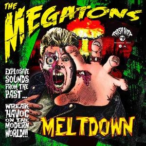 Image of LP The Megatons : Meltdown. Ltd Edition.