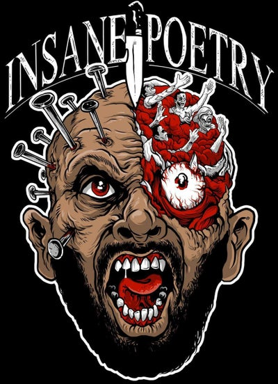 Image of INSANE POETRY- PINHEAD CYCO TALL T-SHIRT