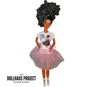 Image of Kinks & Candy | Updo Kinky Hair Doll