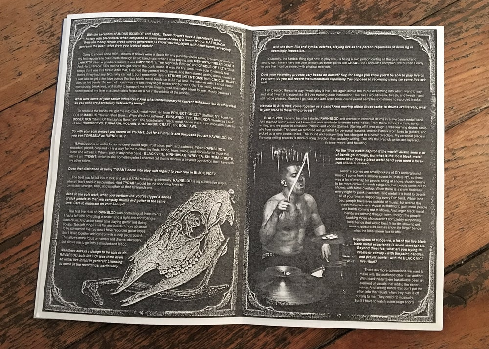 Image of BLACK GLOVE 'ZINE issue 3