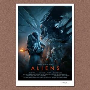 Image of Aliens (alternative) Poster