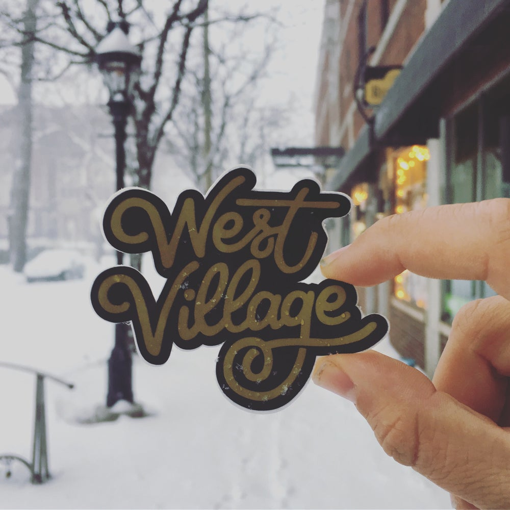 Image of West Village sticker