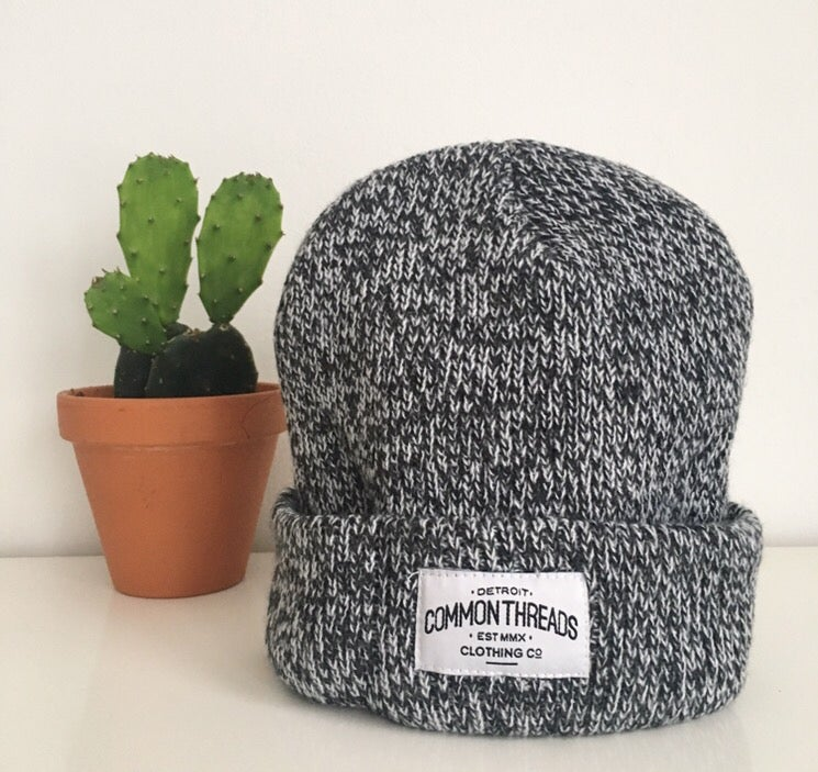 Image of Grey Knit Beanie