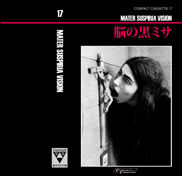 Image of [LIMITED 10] MATER SUSPIRIA VISION - SMDG - The Album (Black Edition Cassette, Japan Export)