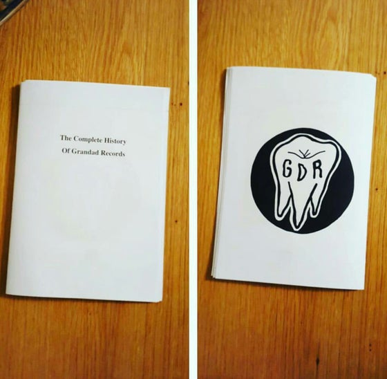 Image of The history of GDR zine