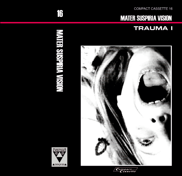 Image of [LIMITED 15 CASSETTE] MATER SUSPIRIA VISION - TRAUMA I (Design B)