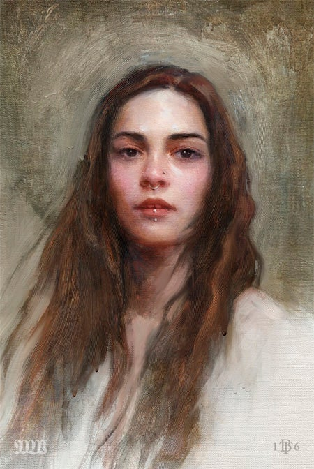 Image of Portrait Study no19_