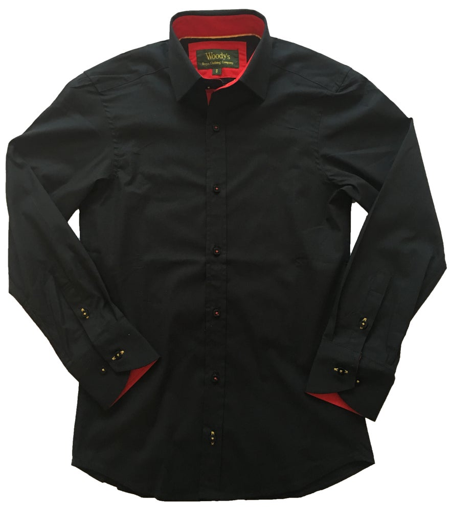 Image of Black w/Red Party Shirt