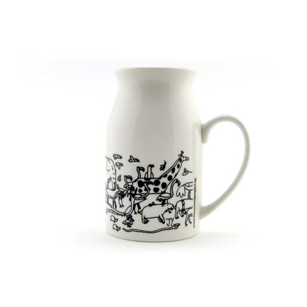 Image of Milk Mug - The Animal Exodus