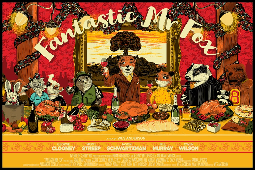 Image of The Fantastic Mr. Fox by Raid71 Shipped in CONUS