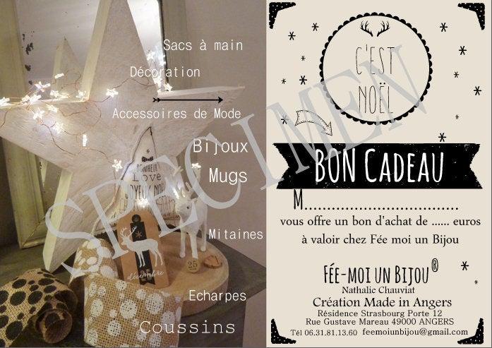 Image of Bon Cadeau Fée moi un Bijou