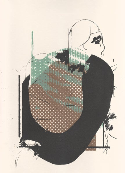 Image of 'Black Cape' Print