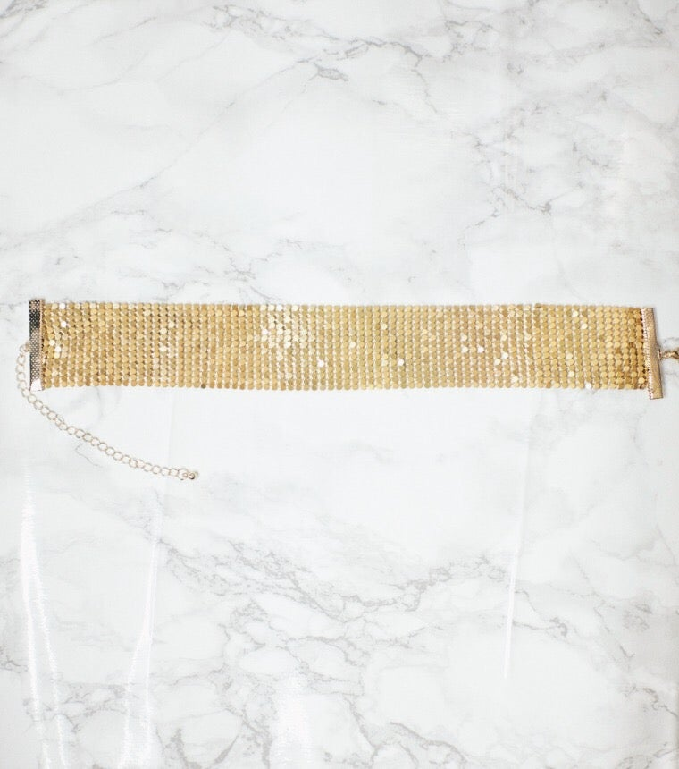 Image of Gold Holiday Choker