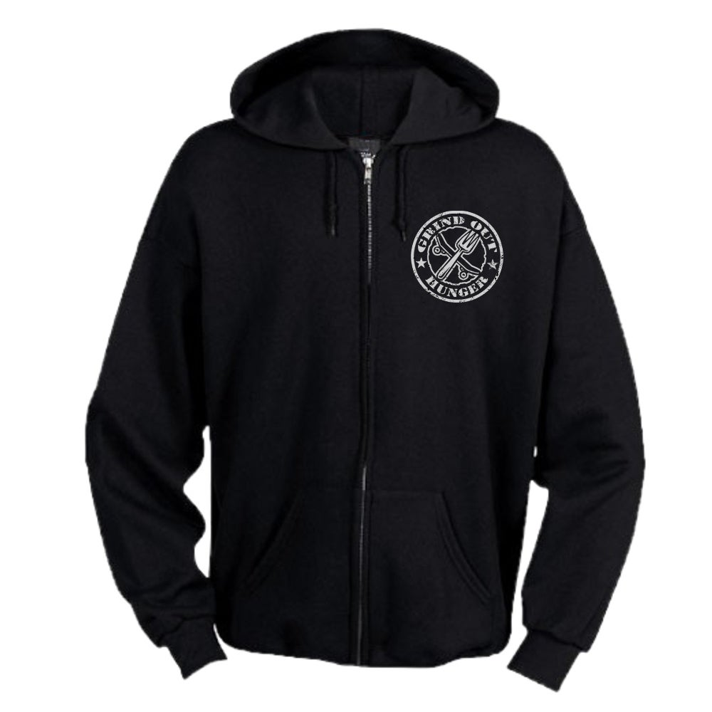 Image of Youth Grind Out Hunger Zip Hood