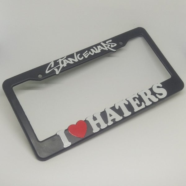 Image of I Heart Haters Plate Frame