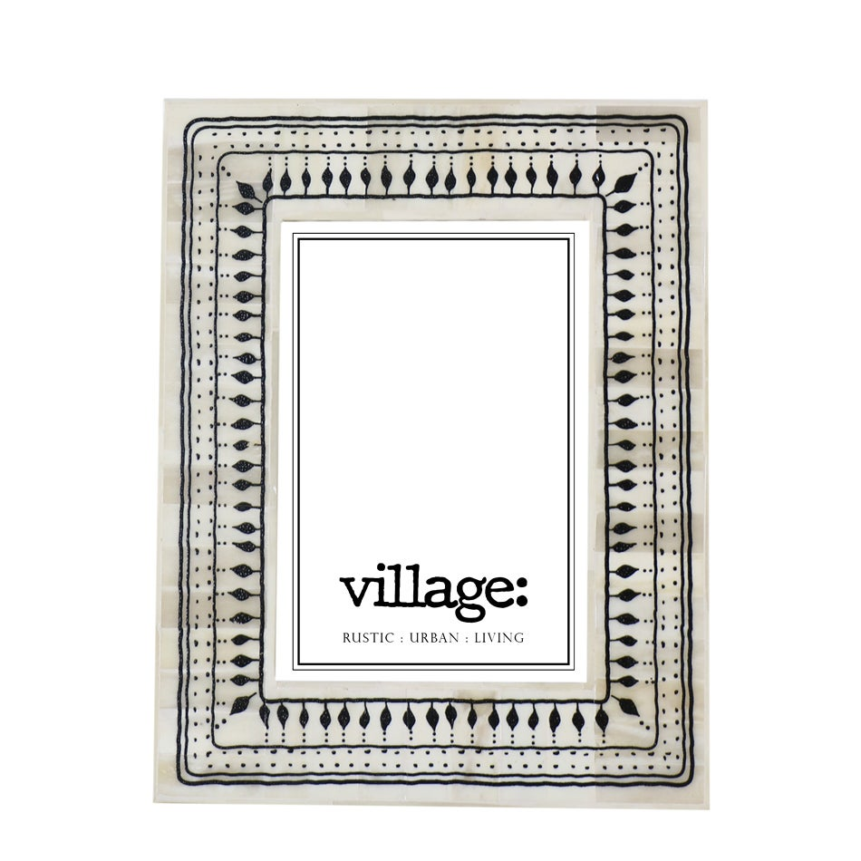 Image of Tribal Bone Photo Frame