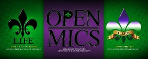 Image of L.I.F.E. OPEN MICS © (ALL RIGHTS RESERVED BY L.I.F.E.) SHOW TICKETS
