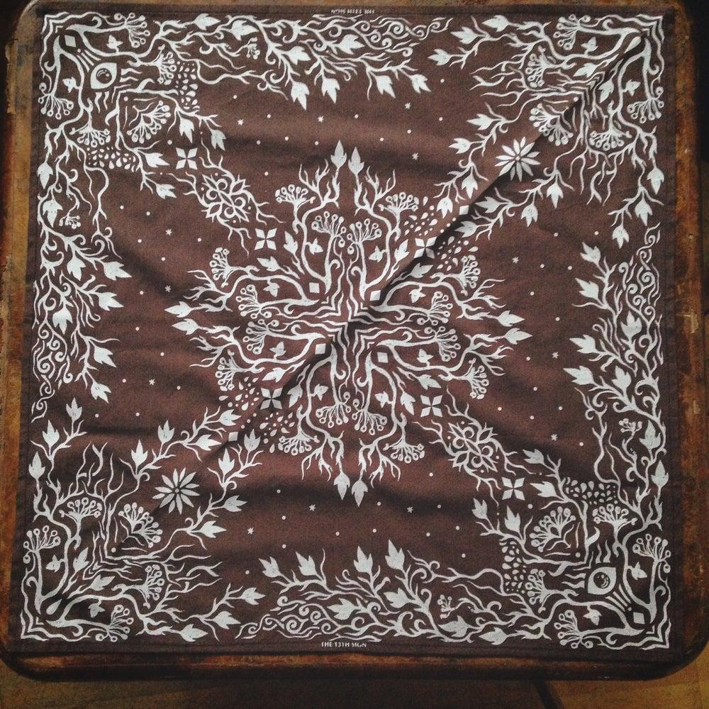 Image of Banadana *Gothic Pattern* Brown