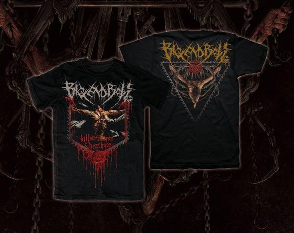 Image of BIG END BOLT - Killstruments & Deathods T-Shirt [pre-order]
