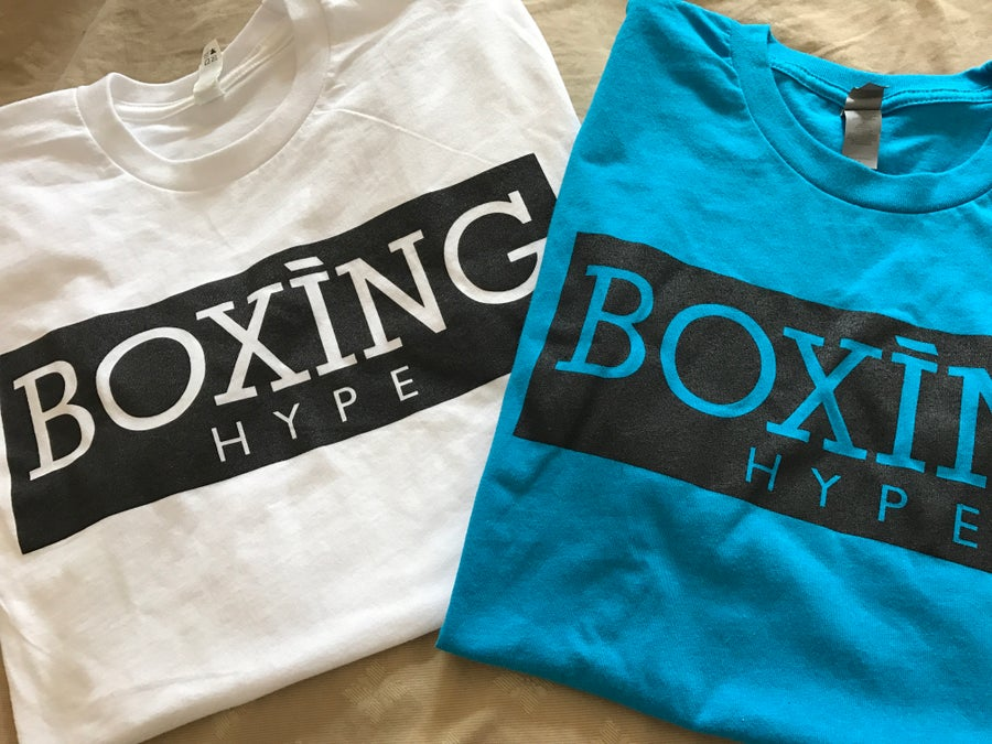 Image of BoxingHype Block Logo tees