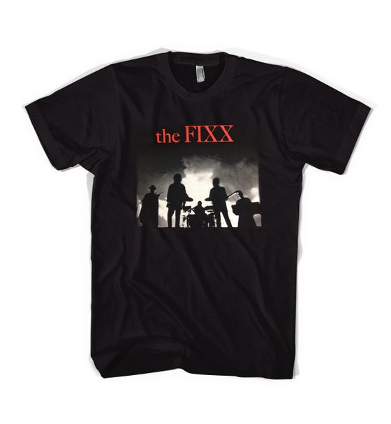 "Image of The Fixx - ""Red Skies"" 2016 Tour Tee - NEW!!!"