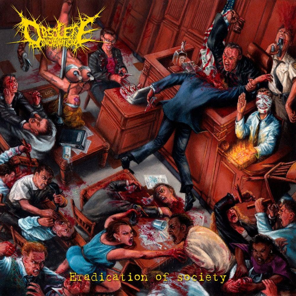 Image of OBSOLETE INCARNATION - Eradication Of Society CD EP