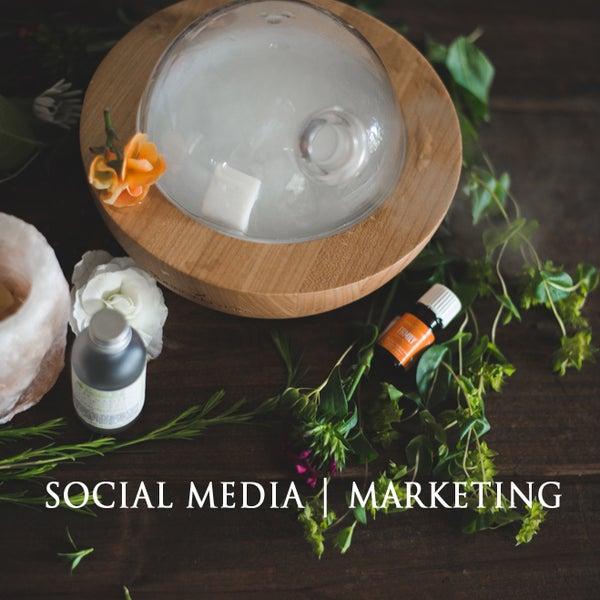 Image of Social Media + Marketing.