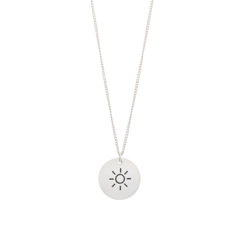 Image of Big Sun Necklace