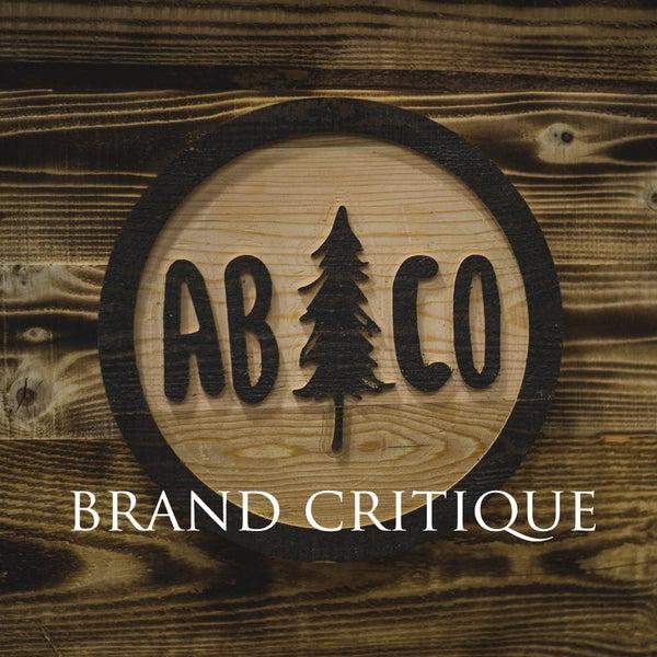 Image of Website + Brand Critique