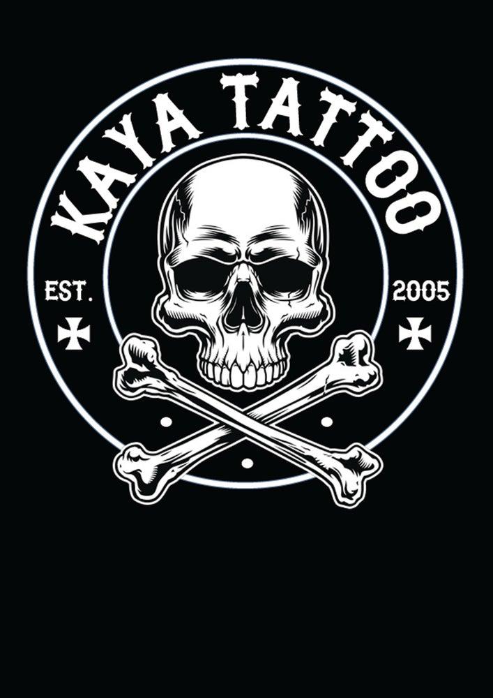 Image of Kaya Tattoo Ladies T Shirt - Black