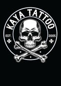 Image of Kaya Tattoo Ladies T Shirt - Black