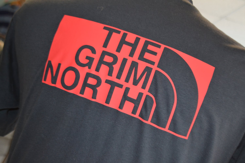 Image of GRIM! NORTH ROAD TEE