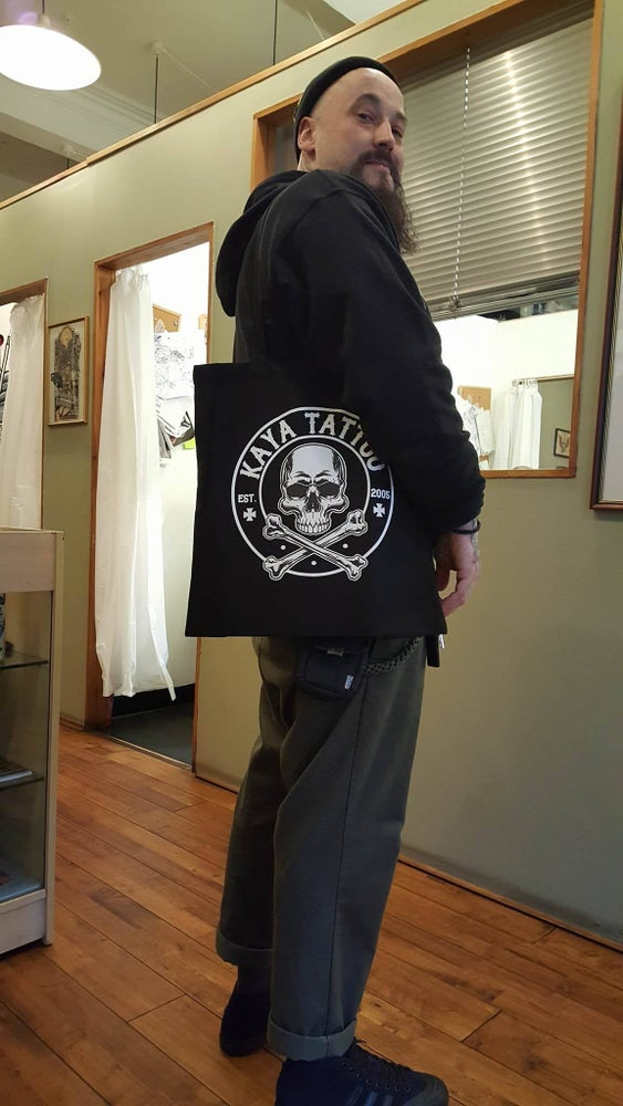 Image of Kaya Tattoo Tote Bag