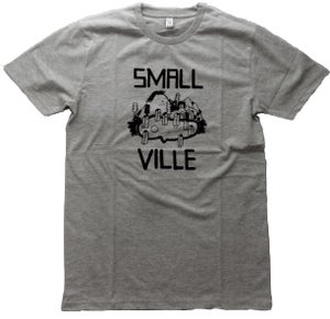 Image of Smallville Shirt Logo - heather grey/ black