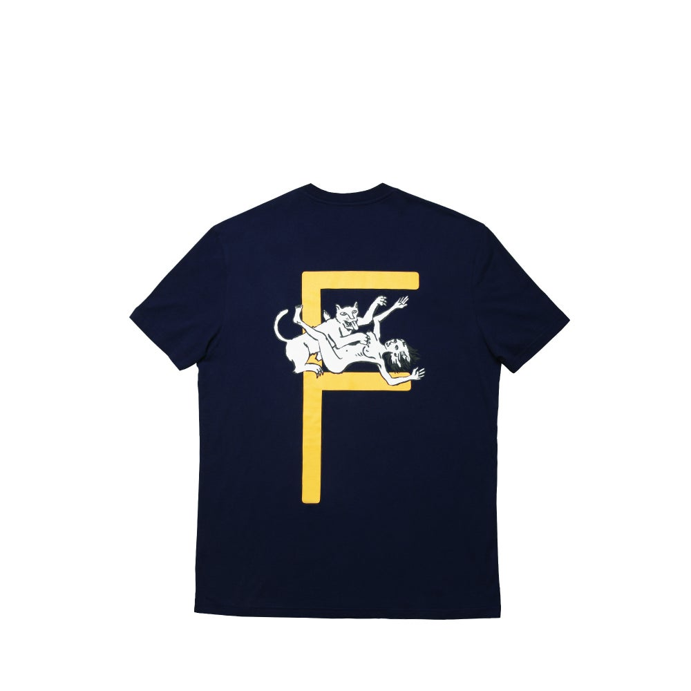 Image of FUTUR x MINUIT - MINUIT F TEE (midnight blue)
