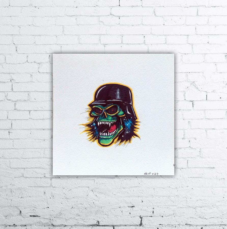 Image of Slayer Mini Painting 6x6