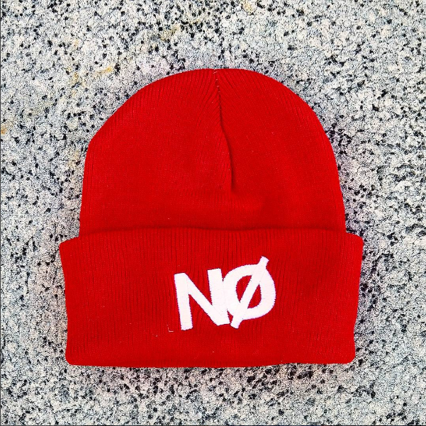 Image of BIG NO BEANIE RED