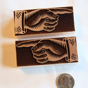 Image of A pair of 8 line Manicules from the UK