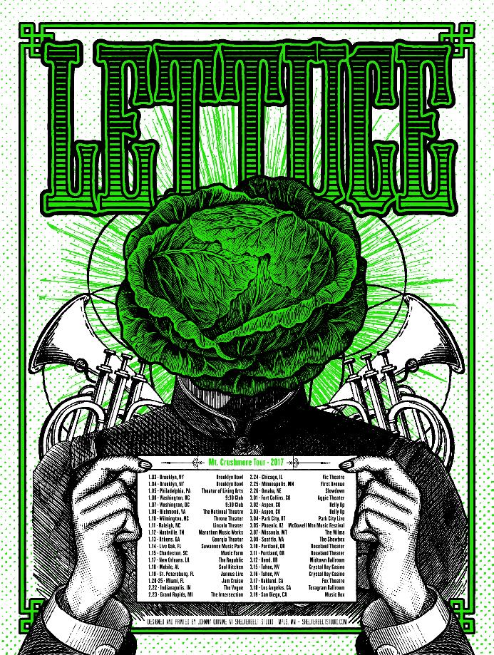 Image of Lettuce - Mt. Crushmore Tour 2017